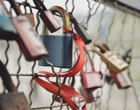 Love Bridge with Locks
